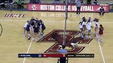 WVB · Notre Dame vs Boston College…