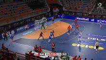 Handball: Angola vs Croatia 1/17/2021