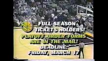 NBA: Utah vs Golden State 3/10/1989