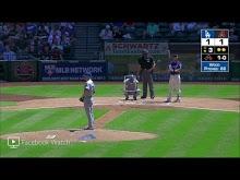 MLB: L.A. Dodgers at Arizona 5/3/2018