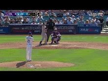MLB: Colorado vs L.A. Dodgers 10/1/2018