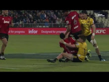Super Rugby: Crusaiders vs Hurricanes…
