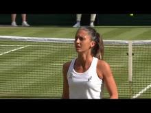 Wimbledon · Serena Williams vs Giulia-Gatto…