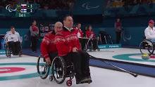 Curling: Paralympics 3/10/2018<br>