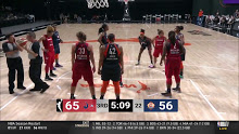 WNBA: Connecticut at Washington…