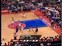 WNBA: Phoenix at Detroit 9/5/2007<br>