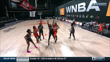 WNBA: New York at Connecticut 9/1/2020