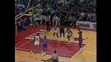 NBA: Chicago vs Detroit 11/7/1989