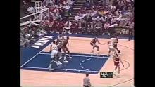 NBA: Dallas vs Chicago 4/7/1990<br>