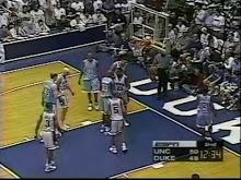MBB: North Carolina vs Duke 1/29/1997