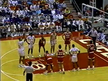 MBB: Indiana vs Iowa State 12/21/1990