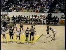 MBB: West Virginia vs Maryland 3/18/1984