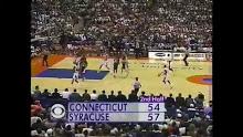 MBB: Connecticut vs Syracuse 2/12/1995