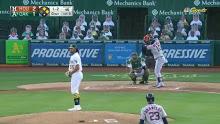 MLB: Houston at Oakland 5/18/2021